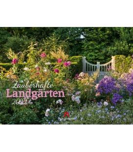 Wall calendar Zauberhafte Landgärten Kalender 2022