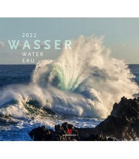 Wall calendar Wasser Kalender 2022