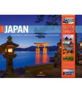 Wall calendar Japan Kalender 2022