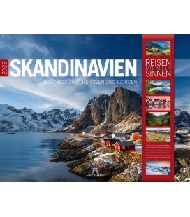 Wall calendar Skandinavien Kalender 2022