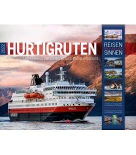 Wall calendar Hurtigruten - Norwegen Kalender 2022