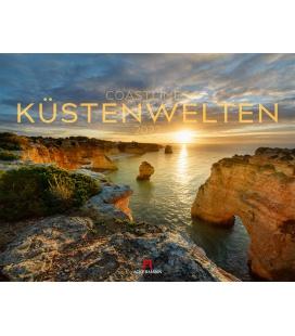 Wall calendar Küstenwelten Kalender 2022