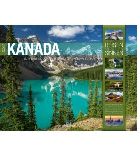 Wall calendar Kanada Kalender 2022