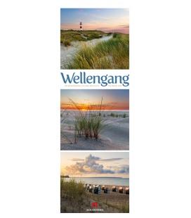 Wall calendar Wellengang - Meer und Küste, Triplet-Kalender 2022
