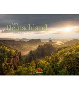 Wall calendar Deutschland - Zauberhafte Landschaften Kalender 2022