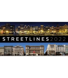 Wall calendar Streetlines Kalender 2022