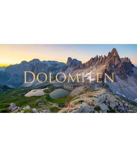 Wall calendar Dolomiten Kalender 2022