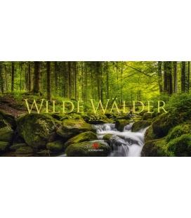 Wall calendar Wilde Wälder Kalender 2022