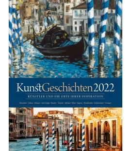 Wall calendar KunstGeschichten Kalender 2022