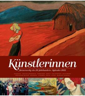 Wall calendar Künstlerinnen, Meisterwerke des 20. Jahrhunderts, Kalender 2022