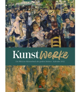Wall calendar KunstWerke Kalender 2022