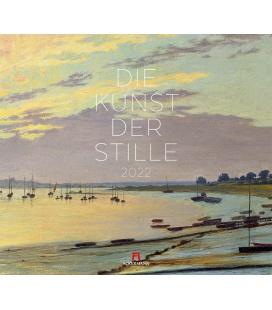 Wall calendar Die Kunst der Stille Kalender 2022