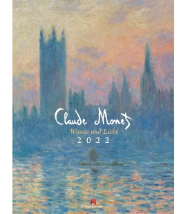 Wall calendar Claude Monet - Wasser und Licht Kalender 2022