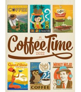 Wall calendar Coffee Time - Kaffee-Plakate Kalender 2022