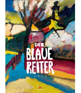 Wall calendar Der Blaue Reiter Kalender 2022