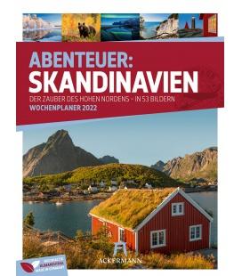 Wall calendar Skandinavien - Wochenplaner Kalender 2022