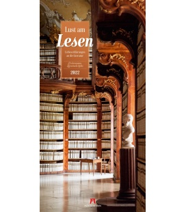 Wall calendar Lust am Lesen - Literatur-Kalender 2022