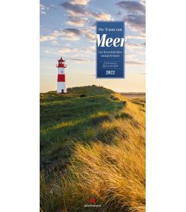 Wall calendar Der Traum vom Meer - Literatur-Kalender 2022