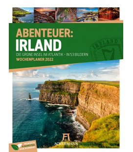 Wall calendar Irland - Wochenplaner Kalender 2022