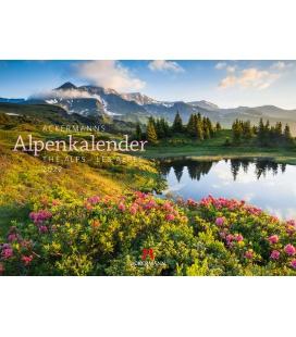 Wall calendar Ackermanns Alpenkalender Kalender 2022