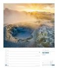 Wall calendar Island - Wochenplaner Kalender 2022