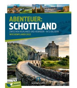Wall calendar Schottland - Wochenplaner Kalender 2022