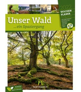 Wall calendar Unser Wald - Wochenplaner Kalender 2022