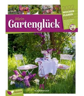 Wall calendar Gartenglück - Wochenplaner Kalender 2022