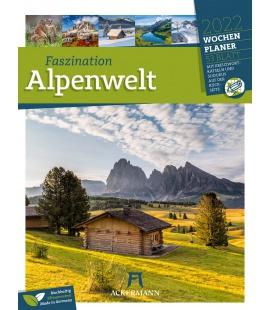 Wall calendar Faszination Alpenwelt - Wochenplaner Kalender 2022