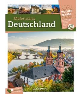 Wall calendar Malerisches Deutschland - Wochenplaner Kalender 2022