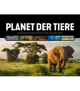 Wall calendar Planet der Tiere Kalender 2022