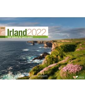 Wall calendar Irland ReiseLust Kalender 2022