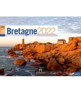 Wall calendar Bretagne ReiseLust Kalender 2022