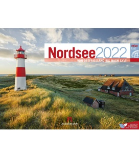 Wall calendar Nordsee ReiseLust Kalender 2022
