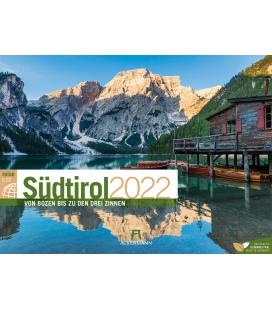 Wall calendar Südtirol ReiseLust Kalender 2022