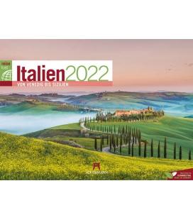 Wall calendar Italien ReiseLust Kalender 2022