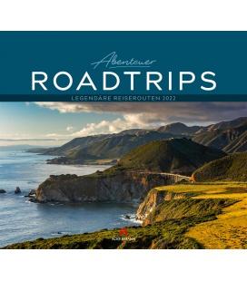 Wall calendar Abenteuer Roadtrips Kalender 2022
