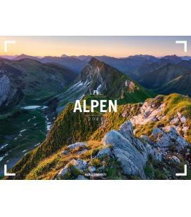 Wall calendar Alpen - Ackermann Gallery Kalender 2022