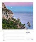 Wall calendar Rund ums Mittelmeer - Wochenplaner Kalender 2022
