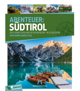Wall calendar Südtirol - Wochenplaner Kalender 2022