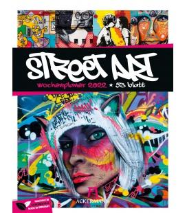 Wall calendar Street Art - Wochenplaner Kalender 2022
