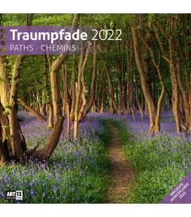 Wall calendar Traumpfade Kalender 2022