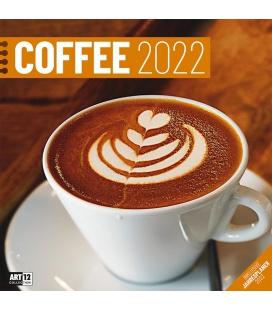 Wall calendar Coffee Kalender 2022