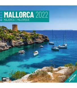 Wall calendar Mallorca Kalender 2022