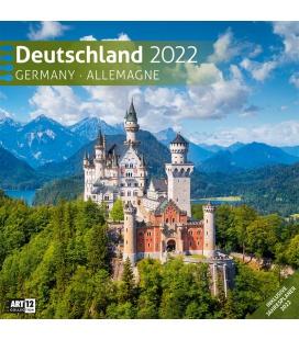 Wall calendar Deutschland Kalender 2022