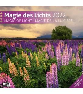 Wall calendar Magie des Lichts Kalender 2022