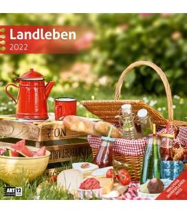 Wall calendar Landleben Kalender 2022