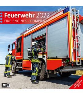 Wall calendar Feuerwehr Kalender 2022