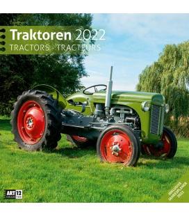 Wall calendar Traktoren Kalender 2022