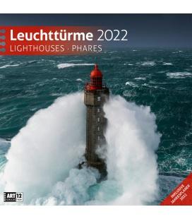 Wall calendar Leuchttürme Kalender 2022
